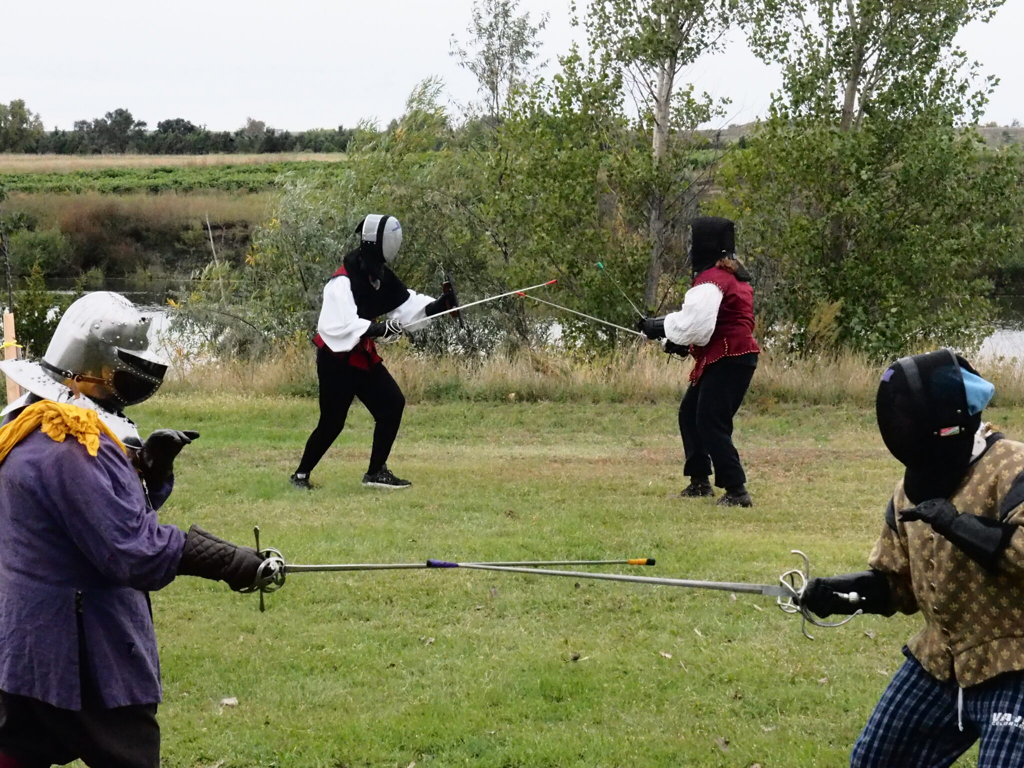 Fencers at Provost XV
